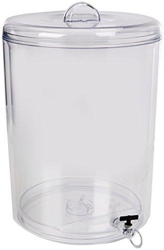Bodum 11726-01S Melior Getränkespender Doppelwändig 10 L, Kunststoff, transparent, 25.8 x 30 x 36.8 cm