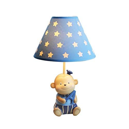YYQIANG Best tafellamp Children's Room Desk Lamp Boy Slaapkamer dimbare LED Creative Cute Cartoon Warm Warm Licht Home Desk Lamp (Size : Small)