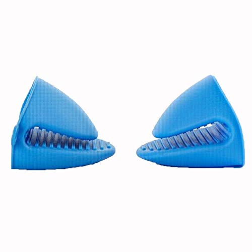 Silikon-Ofen-Handschuh-Set (2) for Hot Pots oder Küchen, gebraucht als Heizkissen oder Grill.Mini-Backofen Handschuhe sind paarweise verkauft.Mini-Handschuhe verwendet werden, wenn Kochen auf dem Gril