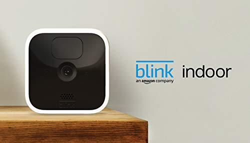 Blink Indoor – wireless, HD security camera with two-year battery life, motion detection, and two-way audio – 1 camera kit