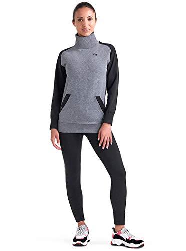 BeGood - Survêtement confort, tenue de sport et loisirs drainant et hydratant - M, Noir et gris