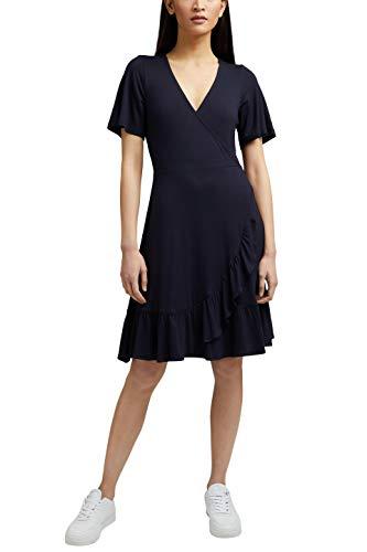 ESPRIT Damen 031EE1E318 Kleid, 400/NAVY, M