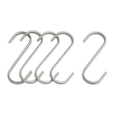 ★グルンドタール / GRUNDTAL S字フック / 5ピース 7cm[イケア]IKEA(20176381)