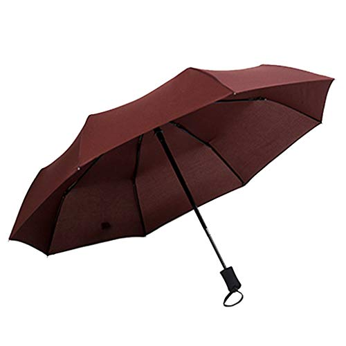 Paraguas Plegable Automático, Paraguas del Sol, Anti Ultravioleta y Grande Antiviento, Portátil