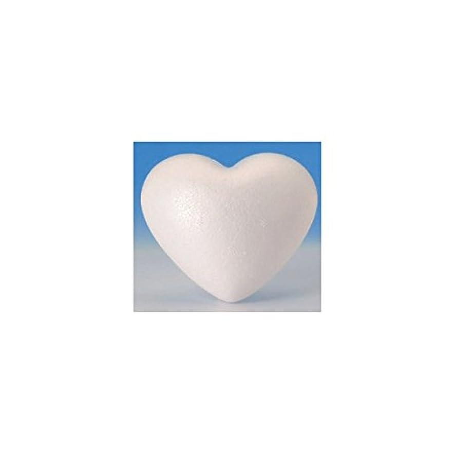 Glorex?6 3803?732?Styrofoam Polystyrene Hearts, White, 2 of, 45?x 13?x 9?cm