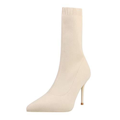 WRF Sokken laarzen Stiletto hoge hak dames kanten dames laarzen