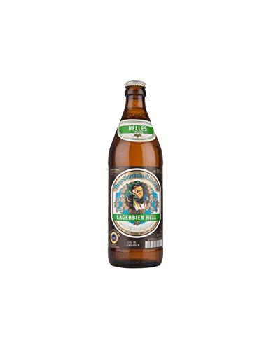 3. Augustiner Lagerbiber Helles – Cerveza alemana de 500 ml