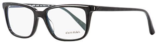 Alain Mikli Rx Brillenrahmen A03079 003 54-17-145 schwarz marmor/crystal