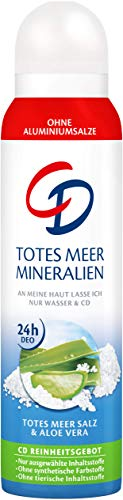 CD Deo Spray Totes Meer Mineralien, 150 ml, Blau/Weiß