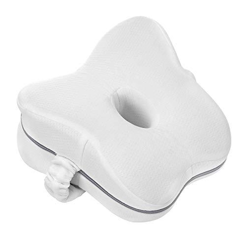 Almohadas posicionadoras de Pierna, Espalda Dormir y Rodillas Almohada Ortopédica para Pierna y Rodilla