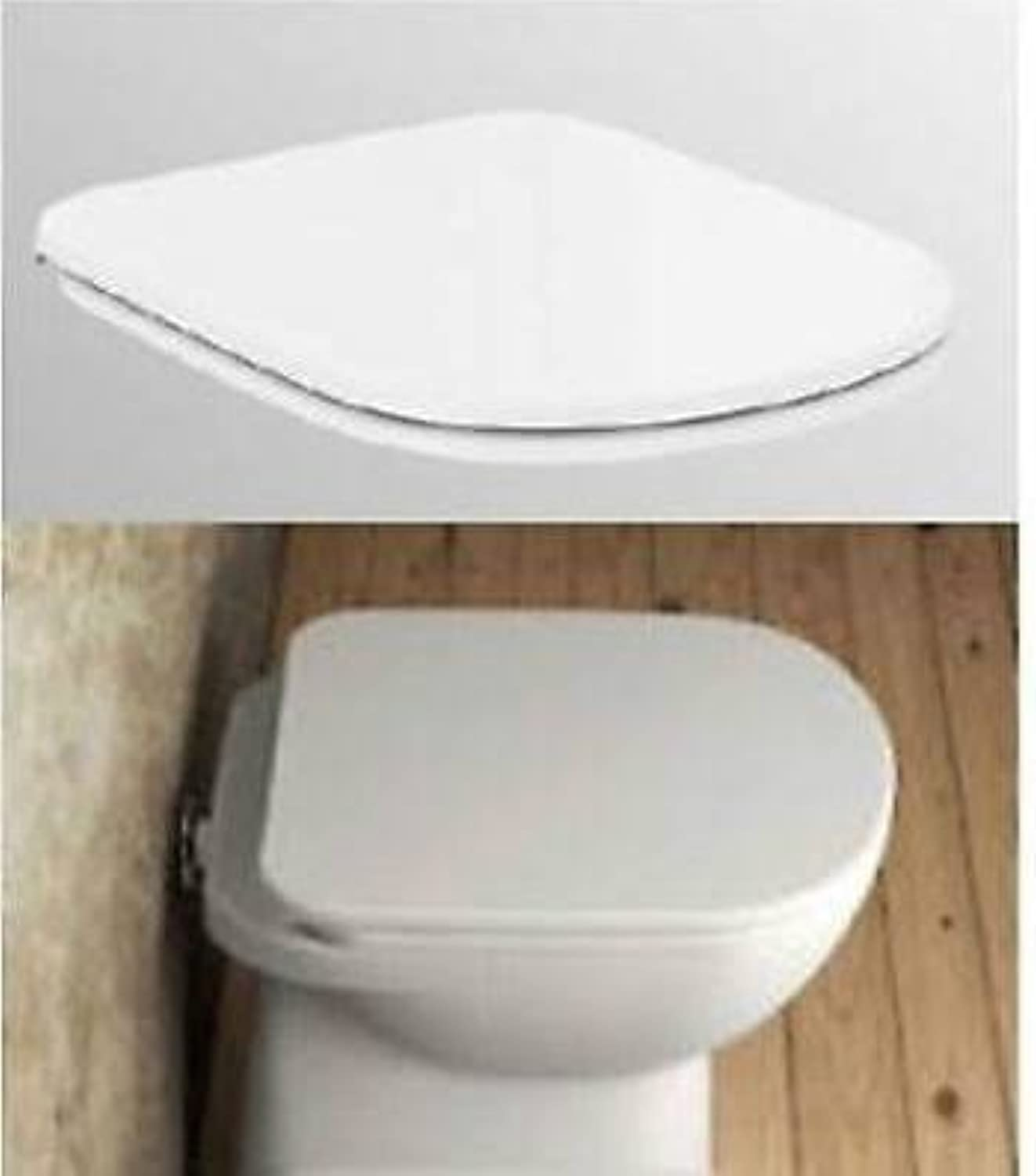 Dolomite Series Gemma 2?j523201?Spare Seat with Metal Hinges White Finish Europe