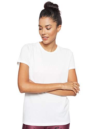 Under Armour Graphic WM Classic Crew T-Shirt Femme, Blanc, M