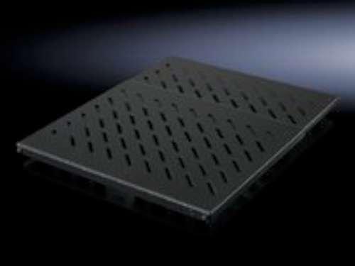 """Rittal Geräteboden, Festeinbau für 482,6 mm (19\"""")-Systemlochung, tiefenvariabel für VX IT, TE, TS IT"""
