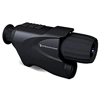 Stealth Cam Digital Night Vision Monocular with Intergrated Ir Filter for Day Use Black One Size