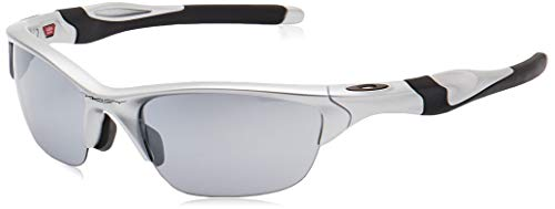 Oakley Men's 0OO9153 Rectangular Sunglasses, Slate Iridium Lens , Silver