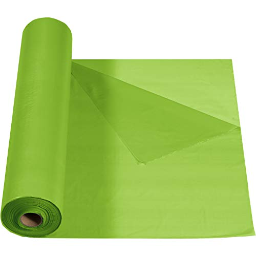 mantel hule verde fabricante Creative Converting
