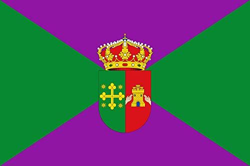 magFlags Bandera Large Iznatoraf, Jaén, España | Bandera Paisaje | 1.35m² | 90x150cm