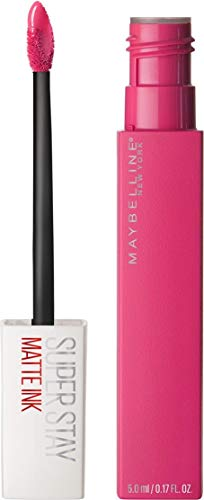 Maybelline New York Lippenstift, Super Stay Matte Ink, Flüssig, matt und langanhaltend, Nr. 30 Romantic, 5ml