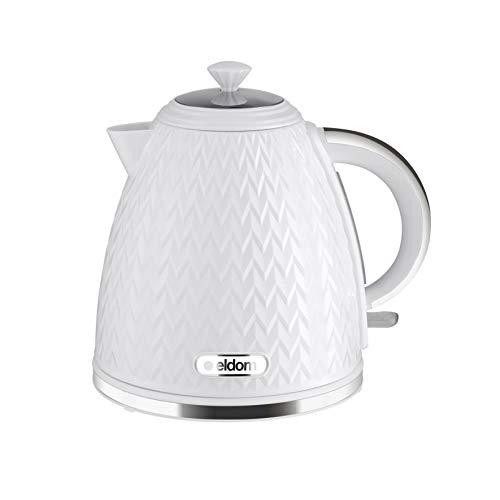 Kabelloser Wasserkocher C265B, 1,7 l, 2000 W, Weiß, der Stern Ihrer Küche