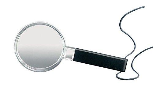 Biconvex Leselupe [Eschenbach 264265] PXM®-Leichtlinse, DUPLEX-beschichtet für randscharfe, verzeichnungsfreie Abbildung, Abmessungen Linse: Ø 65 mm, Vergrößerung: 3x, Dioptrie: 7,4