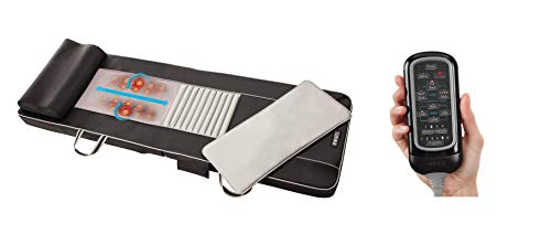 HoMedics LUXUS BM-SV100H Shiatsu Massagematte mit Fernbedienung, Massageauflage Massage Matratze (Generalüberholt)