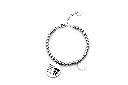 Anson&Hailey braccialetto Best Friends e Inspirational braccialetto braccialetti dell' amicizia, regolabile, regali, gioielli Sister Gift.