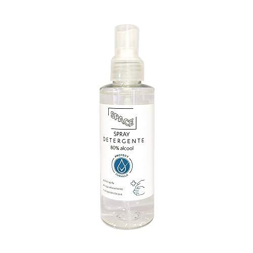 Spray 150ml Germicida per Mascherine, Disinfettante Multiuso per igienizzare tutte le superfici, profumazione Aloe Vera, con Glierina