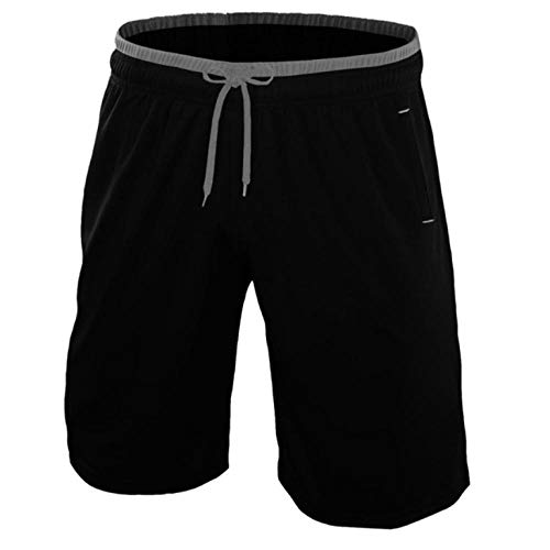 Shorts de Course Respirants d'été à séchage Rapide pour Hommes Gym Bodybuilding Shorts Casual Home Shorts Male-4XL