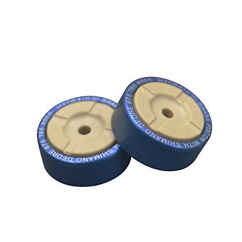 lamta1k pistón de freno hidráulico, piezas de pinza de freno hidráulico de pistón de metal para Shimano XT/M785/M8000/SLX675 - azul