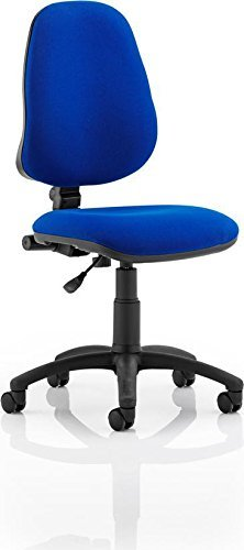 Dynamic Eclipse I Lever Task Operator Chair without Arms - Blue by Dynamic