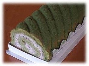 「茶句庭」ながの 抹茶ロールケーキ 23cm