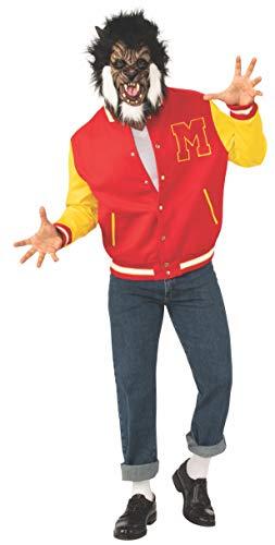 Official Men's Michael Jackson Thriller Werewolf Jacket and Mask, Adult Size