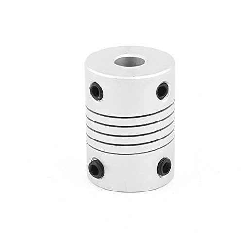 Uxcell a15113000ux1137 6mm to 8mm Aluminum Alloy Encode Beam Coupling Joint DIY Motor Shaft Adapter