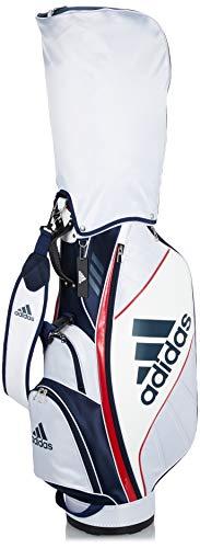 [アディダスゴルフ] メンズキャディーバッグ BG330 ホワイト/カレッジネイビー