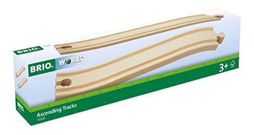 BRIO World Railway Track - Ascending