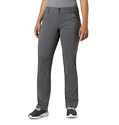 Columbia Women's Standard Saturday Trail Stretch Pant, City Grey, 14 Regular