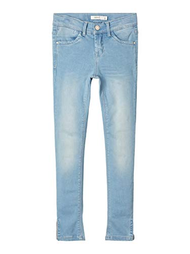 NAME IT Girl Jeans Powerstretch Skinny Fit Ankle 128Light Blue Denim