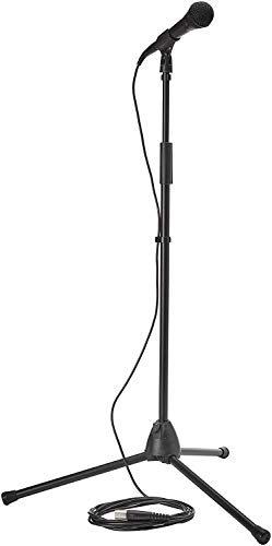 Shure PG ALTA PGA58BTS Stage Performance Kit with PGA58 Microphone, XLR Cable and Mic Stand