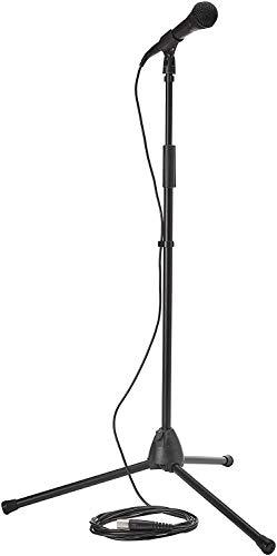Shure PGA58BTS Kit con Micrófono Dinámico Cardioide PGA58, Trípode y Cable XLR a XLR