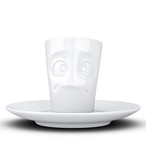 Fifty Eight T02.13.01 verdutzt Espressotasse, Hartporzellan, weiß