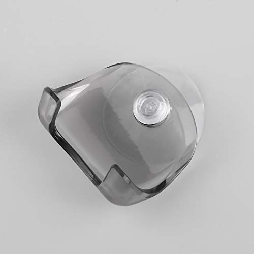 Rouku Porte-Rasoir de Salle de Bain en Plastique écologique Super Suction Cup Razor Holder Support de Rasoir à Ventouse Rasoir Rack de Rasage