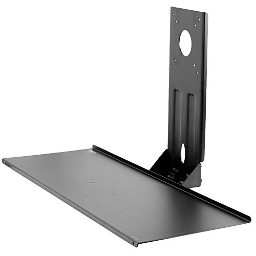 VIVO Computer Keyboard and Mouse Platform Tray VESA Mount Attachment 25.5 x 8 inch Surface, MOUNT-KB03