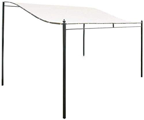 ERTYW Garden Canopy Top Cover,Gazebo Roof Garden Replacement Canopy Top Tent Cloth 300D Canvas Waterproof,Replacement Canopy Top Cover (not included steel stand)
