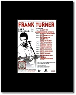 Music Ad World Frank Turner - UK Tour 2009 Mini Poster - 13.5x10cm