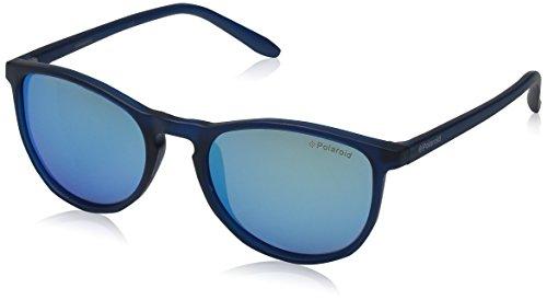 Polaroid Unisex-Kinder Pld 8016/N Jy Ujo 48 Sonnenbrille, Blau (Blute/Grey Bl)
