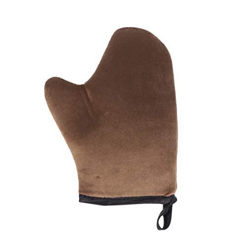 Lurrose Zelfbruinende handschoen bruiningshandschoen-applicator met duim wasbaar, herbruikbaar voor mouse-lotionspray en olie