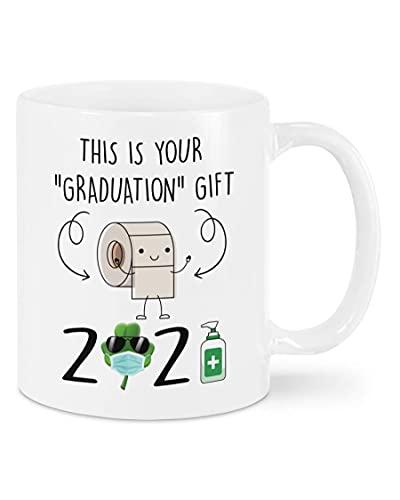 N\A Taza Class of 2021, Este es tu Regalo de graduación Taza de graduación 2021, Senior 2021 Regalos Divertidos para Hija, doctorado, Regalos de graduación Graduado Universitario