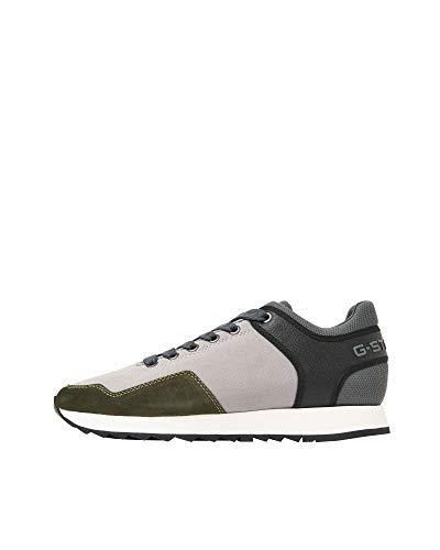 Zapatillas G-Star Hombre Gris Calow Sneaker Slab Grey Combat