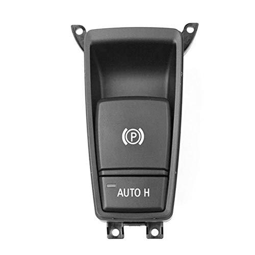 Alicer Auto elektronische Parkbremse Knopfschalter, Handbremse Schalter Einparkhilfe für BMW X5, Autozubehör