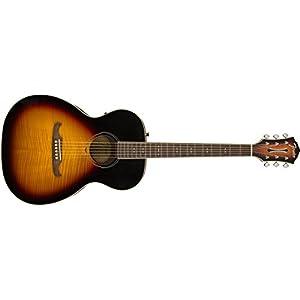 Fender FA-235E Acoustic Guitar Concert Sunburst 10